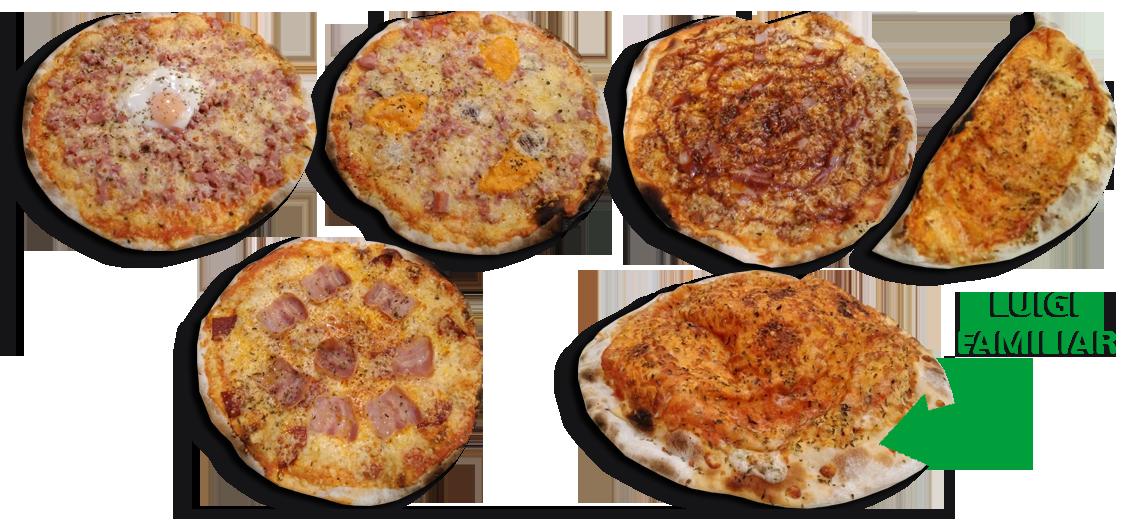 Pizzeria Luigi Xàtiva - Pizzas al horno de leña para llevar